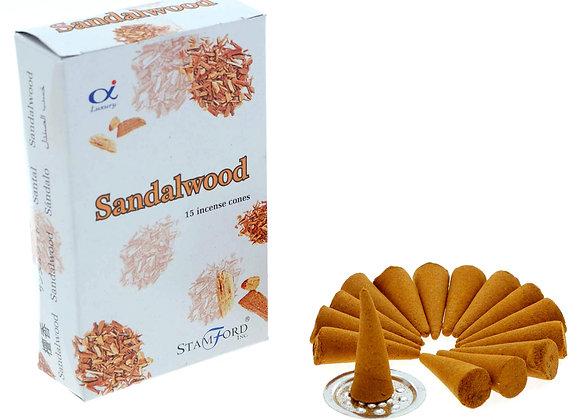 Sandalwood Incense Cones