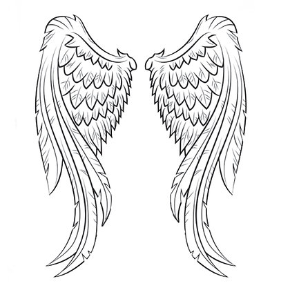 A6 Temporary Tattoo