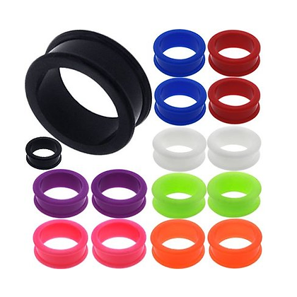 Silicon Tunnels 3mm-28mm