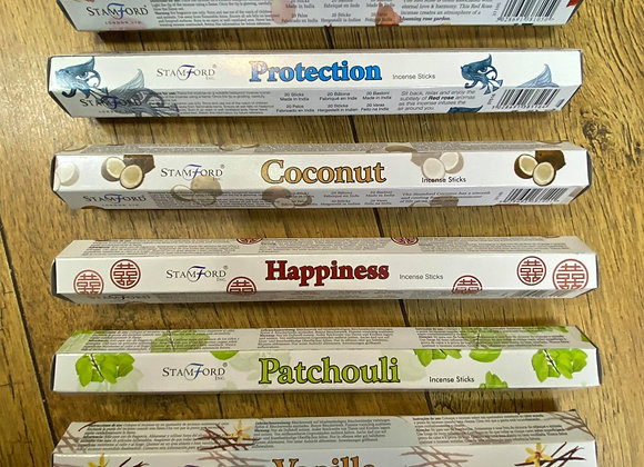 Stamford Incense Sticks 45 Strains