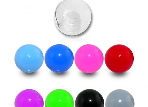 Acrylic UV Externally Threaded Balls