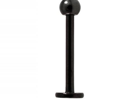 Black Labret- Surgical Steel