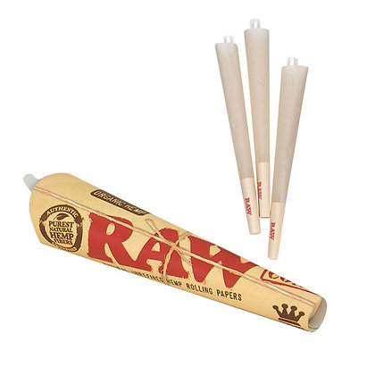 RAW Organic Pack 3 Cones