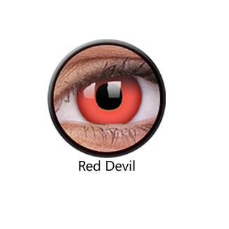 Red Devil One Day Contact Lenses