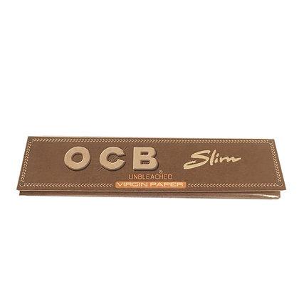 OCB Kingsize Slim Virgin Rolling Papers