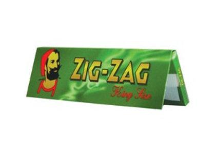 Zig Zag Green Kingsized Papers