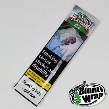 Double Platinum Blunt Wrap - Jade (Watermelon)