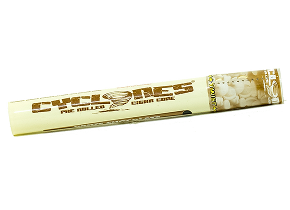 Cyclone Clear Pre-Rolled Cone - White Chocolate