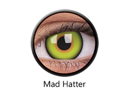 Mad Hatter One Day Contact Lenses