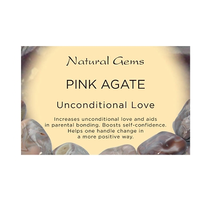 Pink Agate