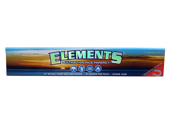Elements Foot Long Rolling Papers - 12 Inches