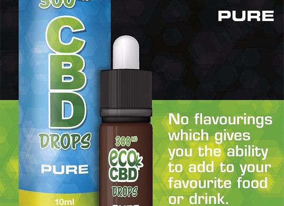 1000mg CBD Drops Isolate Pure