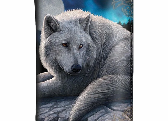 Guardian Of The North Wolf Purse By Lisa Parker