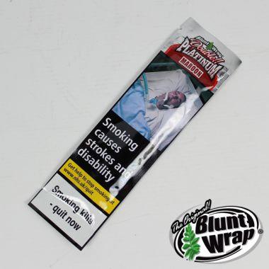 Double Platinum Blunt Wrap - Maroon (Cherry)