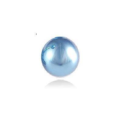 Light Blue Externally Threaded Balls - Surgical Steel