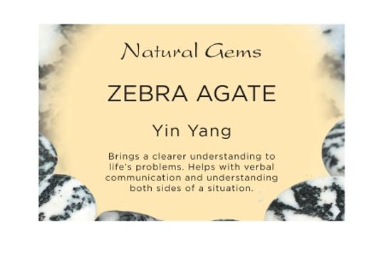 Zebra Agate