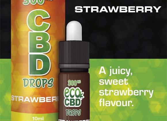 1000mg CBD Drops Isolate Strawberry