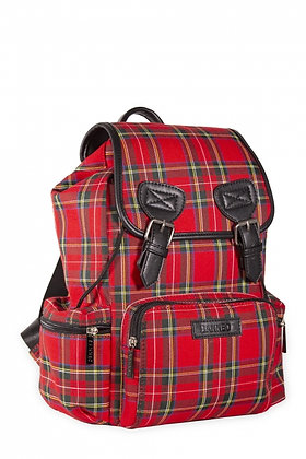 Kenneth Tartan Backpack