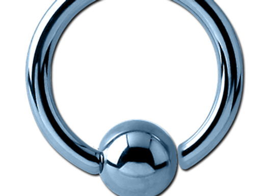 Light Blue BCR - Surgical Steel