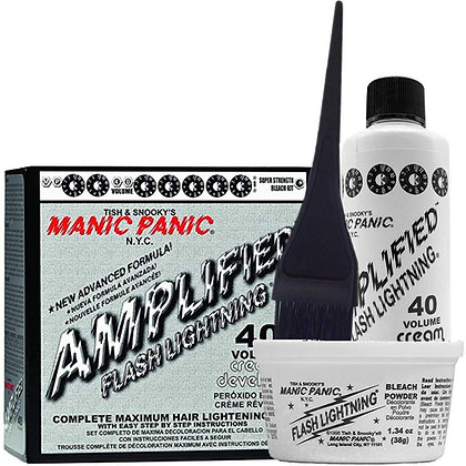 Manic Panic Bleach Amplified Flash Lightning Kit 40 Vol