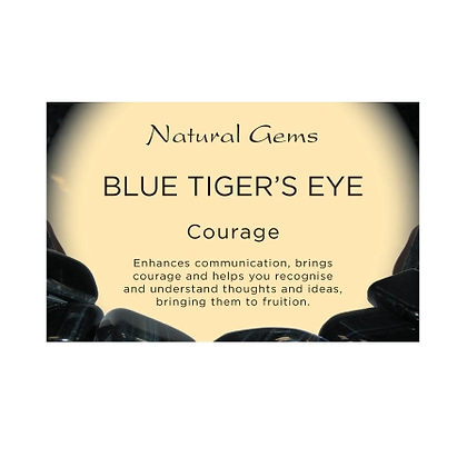 Blue Tigers Eye