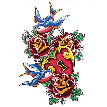 A42 Temporary Tattoo
