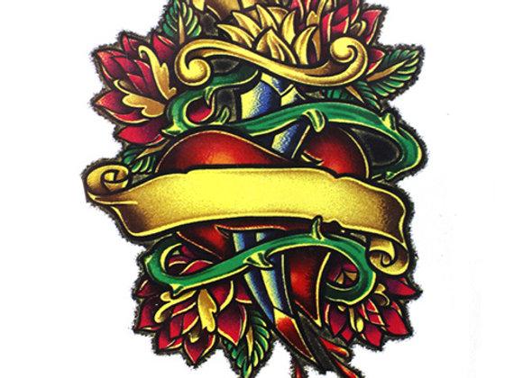 A25 Temporary Tattoo