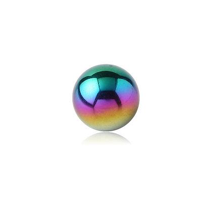Rainbow Externally Threaded Balls - Surgical Steel