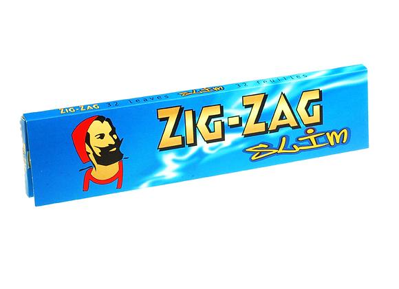 Zig Zag Blue Slim Kings Papers