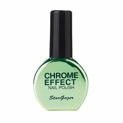 Green Chrome Effect Polish