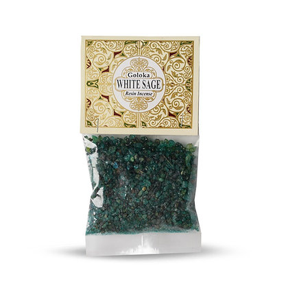 Goloka White Sage Resin Incense