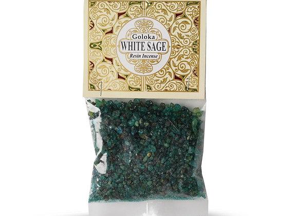 Goloka White Sage Resin Incense