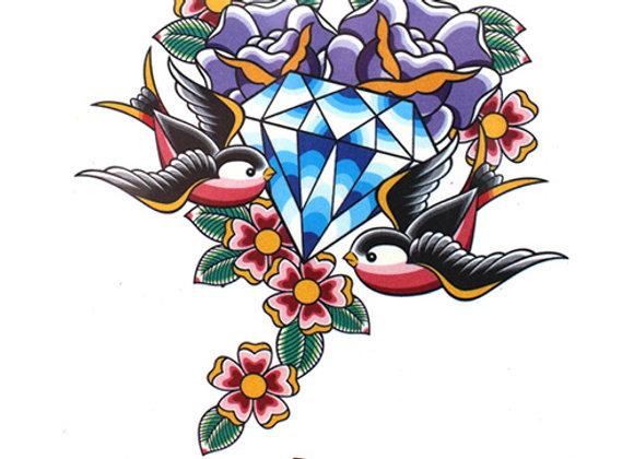 A59 Temporary Tattoo