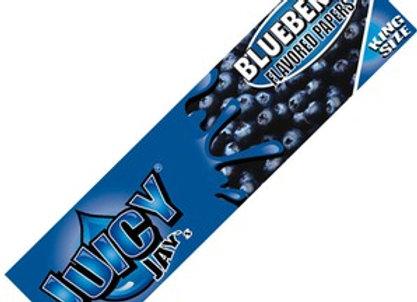 Blueberry Juicy Jay Kingsize Slim Rolling Papers