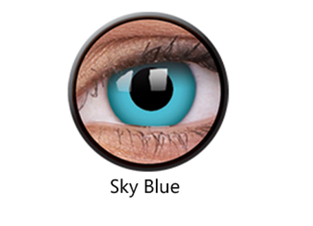 Sky Blue One Day Contact Lenses