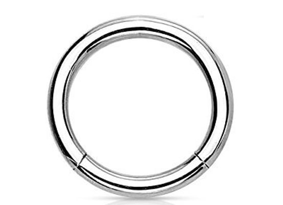 Silver Segment Ring - Surgical Steel