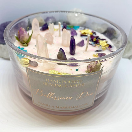 Large Handmade Healing Candles - Vanilla Marshmallow
