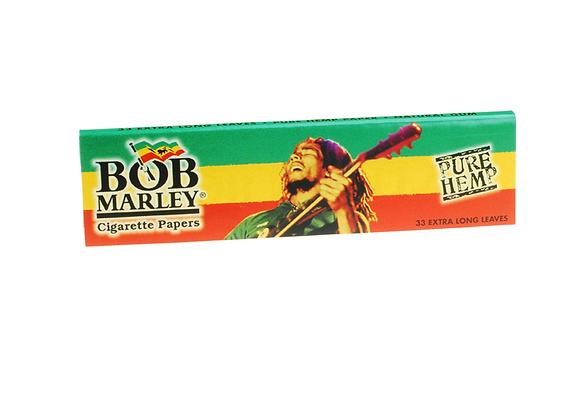 Bob Marley King Size Slim Hemp Smoking Papers