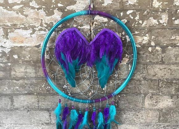 Angel Wings Dreamcatcher