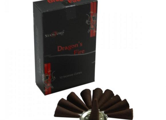 Dragon's Fire Incense Cones