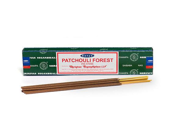 Patchouli Forest Incense Sticks