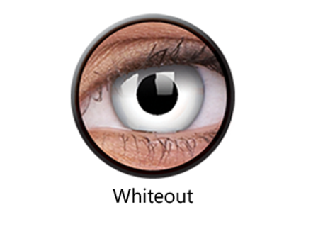 White Out One Day Contact Lenses