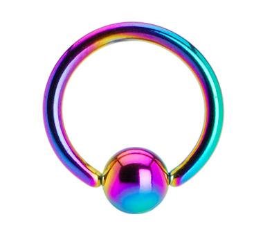 Rainbow BCR - Surgical Steel