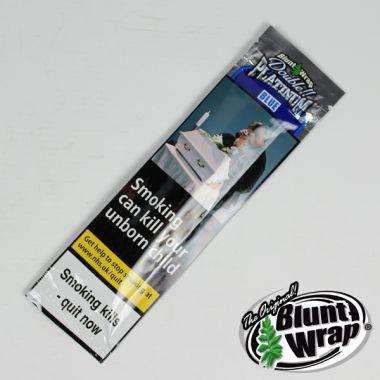 Double Platinum Blunt Wrap - Blue (Blueberry)