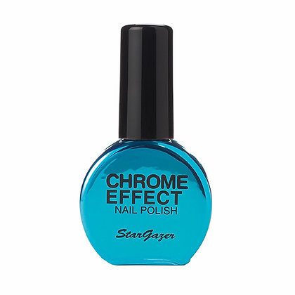 Blue Chrome Effect Polish