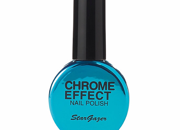Blue Chrome Effect Polish