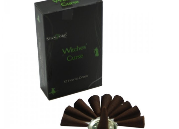 Witche's Curse Incense Cones