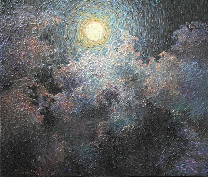 Цветение луны   х.м.   75х90   2010 г.