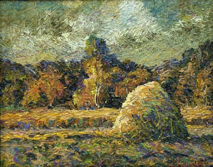 Пора сенокоса    х.м.   45х55   2012 г.