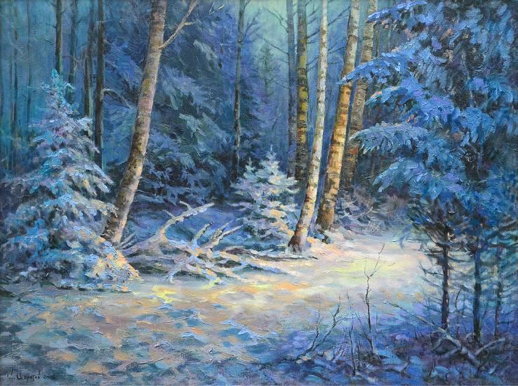 Русский лес  х.м.   60х80   2008 г.